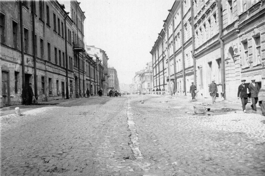 г. Ленинград. ул. Боровая 1930-е годы.