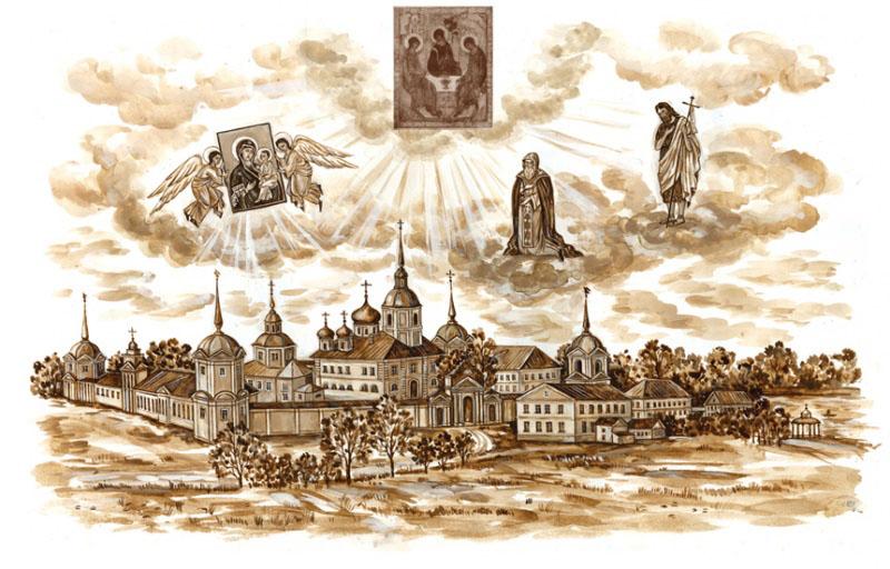 Антониево-Дымский мужской монастырь