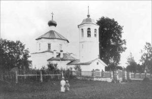 Романщина. Церковь во имя Тихвинской иконы Божией Матери. 1920-е гг