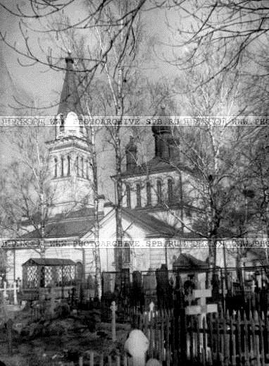 Церковь Святой Равноапостольной Марии Магдалины на Малой Охте
