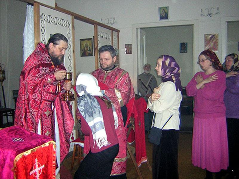 Престольный праздник в домовом храме во имя Собора Новомучеников и Исповедников Российских.