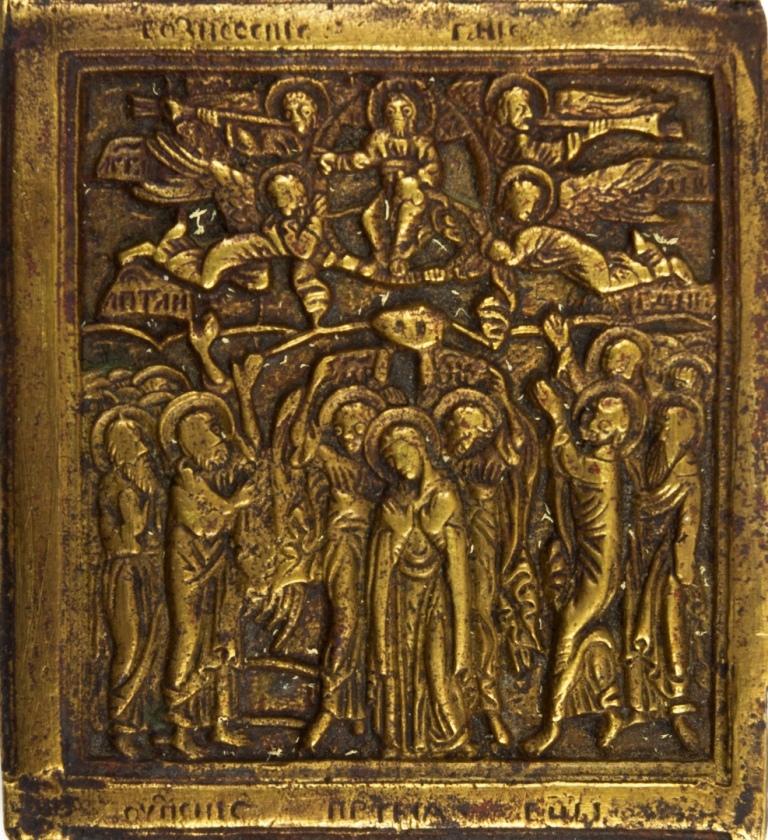 Икона «Вознесение Господне». XIX век. Русские. Фонды РЭМ.