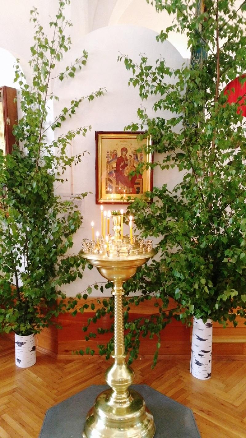 Убранство храма Покрова Пресвятой Богородицы. 2018 год