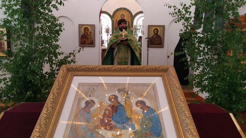 Литургия в день Святой Троицы