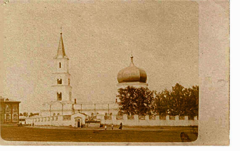 Собор Петра и Павла города Барнаула, 1910 г.