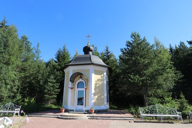 Часовня в честь преподобного Антония Дымского. июль 2021г.