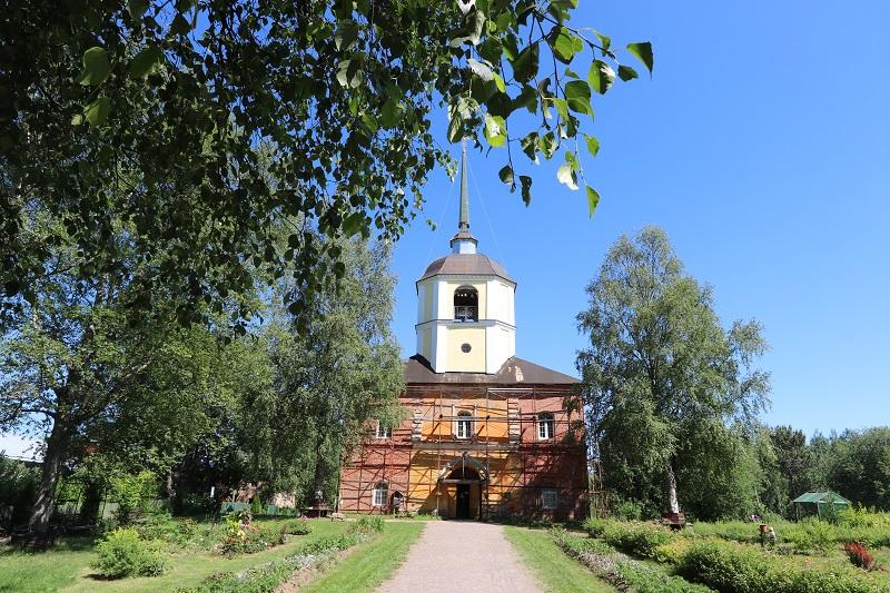 Казанский соборный храм. июль 2021г.
