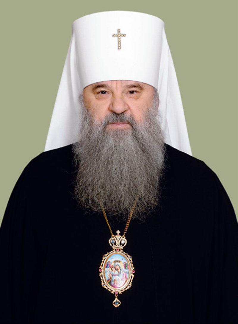 Митрополит Санкт-Петербургский и Ладожский Владимир (с 27 декабря 1995 – 19 марта 2014)