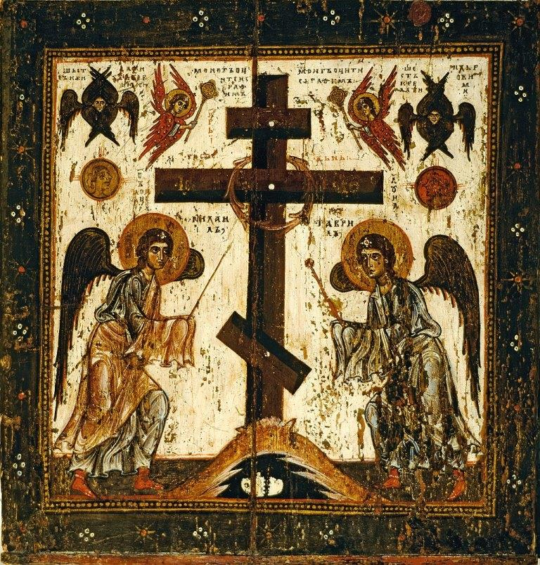 Прославление Креста (оборотная сторона)