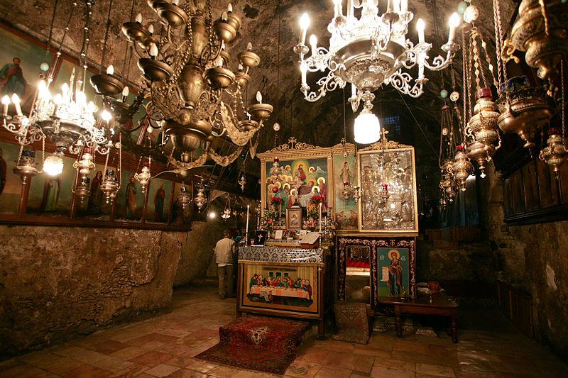 Гробница Богородицы (кувуклия), вид с запада