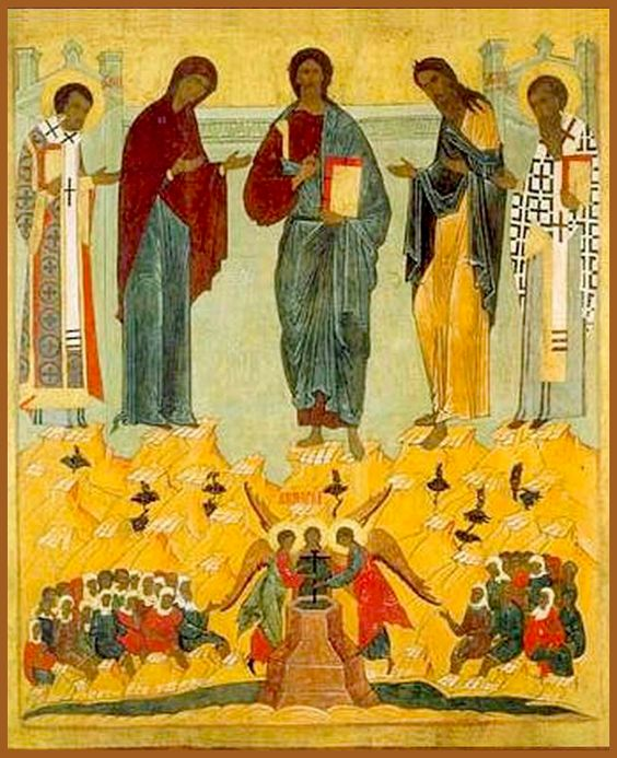 Празднество Всемилостивому Спасу и Пресвятой Богородице (1164)