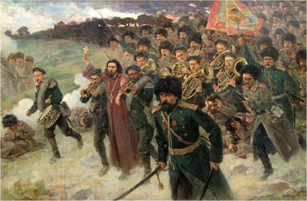 Бой под Тюренченом. (Из жизни Отца Стефана Щербаковского)